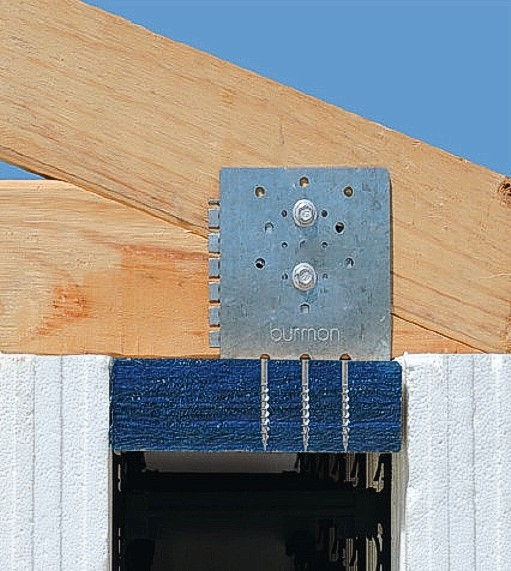 ICF Hurricane Anchor - Connection to Sill Plate